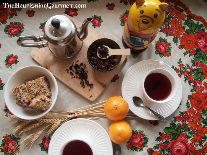 Rosehip Hibiscus Tea & Honey Gift Bundle at TheNourishingGourmet.com