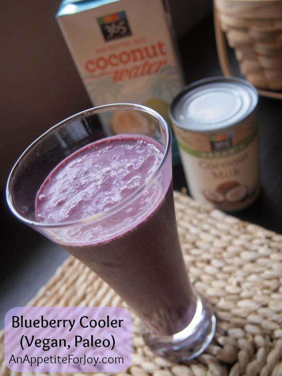 Blueberry Cooler (Vegan, Paleo)